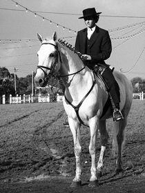 Portuguese horse rider by Gaspar Avila