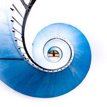 Wendeltreppe im Leuchtturm von Thomas Matzl