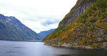 Ausfahrt aus dem Geirangerfjord von Jens Uhlenbusch