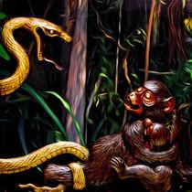 Le serpent et la guenon by Boris Selke