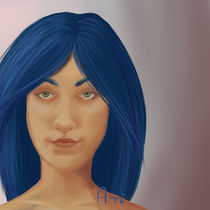 Blue by arenja