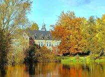 Reinbek, Mühlenteich und Schloss by Christoph Stempel