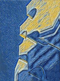 Blu by monjiiart