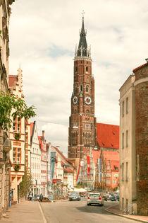 Landshut Dreifaltigkeitsplatz Zyklus I von Ingo Mai