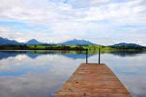 Der Hopfensee lädt im Sommer zum Schwimmen von Heinz Munk