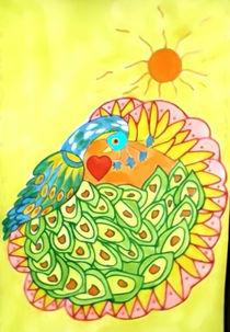 Mandala ''Peacock'' by nellyart