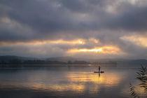 Stand up paddling am Bodensee von Christine Horn