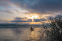 Fischerboot auf dem Bodensee von Christine Horn