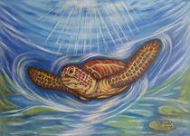 Krafttier Schildkröte von Marija Di Matteo