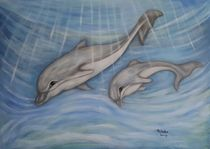 Krafttiere Delfine by Marija Di Matteo