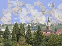 Schäfchenwolken von Anni Freiburgbärin von Huflattich