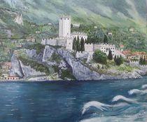 Malccesine am Gardasee von Elisabeth Maier