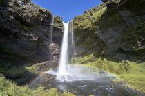 isländischer Wasserfall von michael-shumway