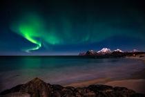 Aurora borealis, von Stein Liland