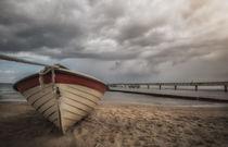 Boot am Ostseestrand von micha-trillhaase-fotografie