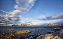 Rainbow above Offersøykammen von Stein Liland