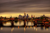 Frankfurt Skyline von Bettina Dittmann