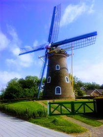 Windmühle  by Iris Bernecker