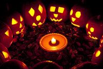 Pumpkin Seance by Jim Corwin