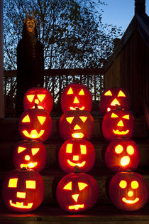 Pumpkins of Steps by Jim Corwin