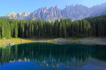 Karersee Südtirol by Patrick Lohmüller