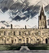 Christchurch College at Oxford von Eamon Banta