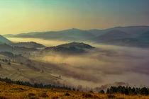 Foggy sunrise by Milan Cernak