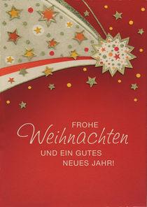 Weihnachtskarte Sternenschweif von seehas-design