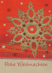 Weihnachtskarte Ornamentstern by seehas-design