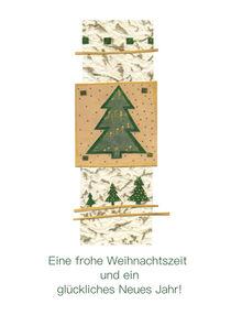 Weihnachtskarte Tannenbaum von seehas-design