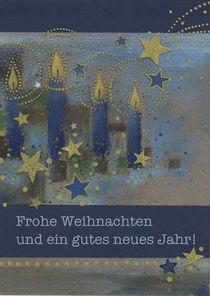 Weihnachtskarte Kerzenzauber by seehas-design