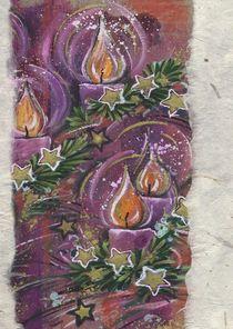 Weihnachtskarte Kerzenlicht von seehas-design