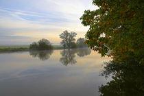 Herbstmorgen an der Ruhr von Bernhard Kaiser
