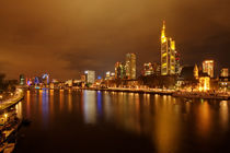 Frankfurt Skyline 3 von Bettina Dittmann