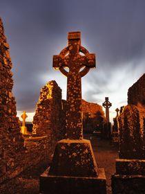 Celtic crosses/Keltenkreuze, Hill of Slane von Thomas Lotze