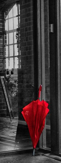 The red umbrella by Helen Parker