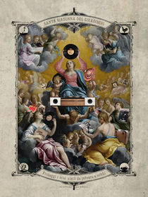 Santa Madonna del Giradischi von ex-voto