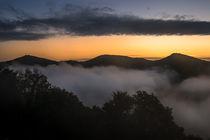 Sonnenaufgang am Drachenfels by Frank Landsberg