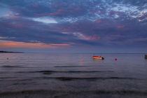 Dänische Fischerboote auf der Ostsee by Frank Koller