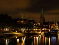 Bremen bei Nacht by Frank Koller