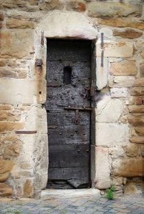 Eingang in den Burgturm von Peter Hebgen