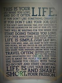 THIS IS YOUR LIFE by bella