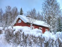 Winter in Sweden by Maria Preibsch