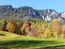 Berchtesgadner Herbst by Rudolf Strasser