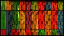 buntes geometrisch by k-h.foerster _______                            port fO= lio