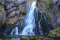 Göllinger Wasserfall von Bernhard Kaiser