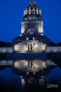 Völkerschlachtdenkmal bei Nacht von Jens Heynold