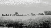 Vorüberziehende Landschaft  by Hartmut Binder