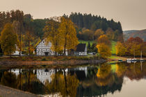 Herbst an der Listertalsperre by Simone Rein