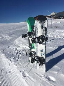 Snowboarden by Mathias Karner